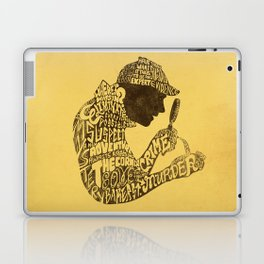 Man of Many Words Laptop & iPad Skin