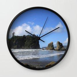Sea Stacks Wall Clock