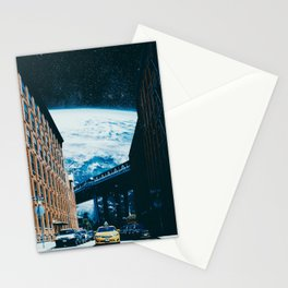 Taxi Ride To The Universe Stationery Cards