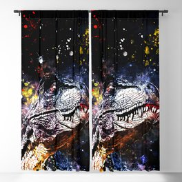 tyrannosaurus rex wsstd Blackout Curtain