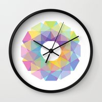 fig Wall Clocks featuring Fig. 036 by Maps of Imaginary Places