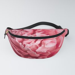 Peony Photography | Hot Pink Flower | Floral Art Print | Nature | Botany | Plant Fanny Pack