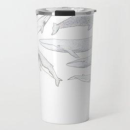 Whales of the world Travel Mug