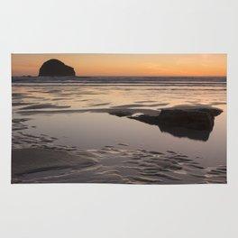 Sunset in Cornwall II Rug
