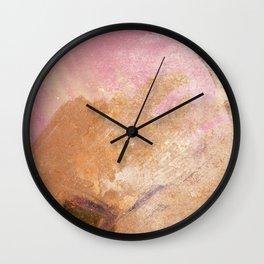 Planetary Pink Wall Clock