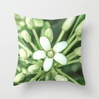 sisters Throw Pillows featuring Sisters by Loredana