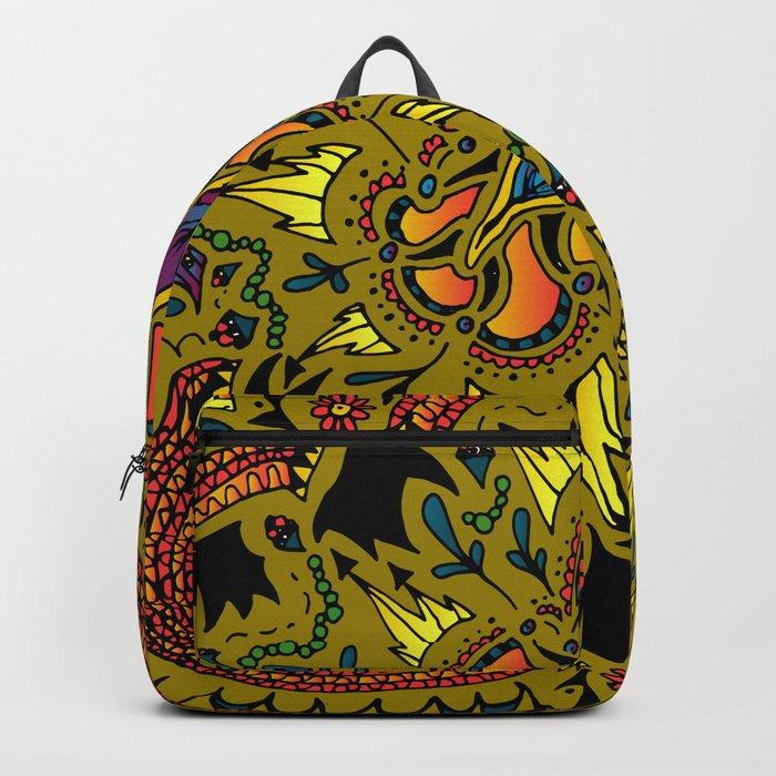 Zentangle #2b Backpack