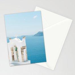 Church on Santorini Island Greece Oia Stationery Cards