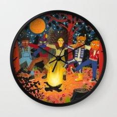 The Spirits of Autumn Wall Clock