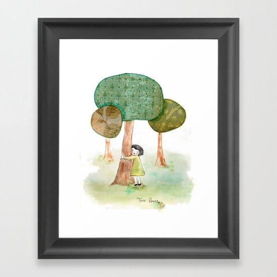 Tree Lover Framed Art Print