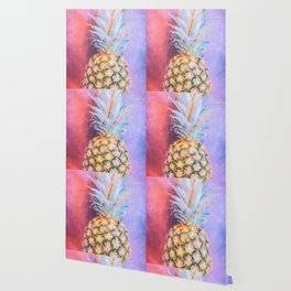 Colorful Pineapple Wallpaper