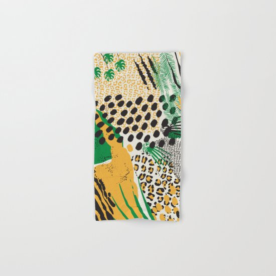 wild cats Hand & Bath Towel