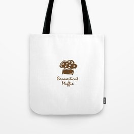 Connecticut Muffin Tote Bag