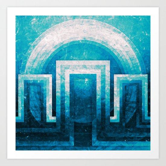 WELCOME II Art Print