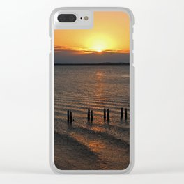 Love Beyond Time Clear iPhone Case