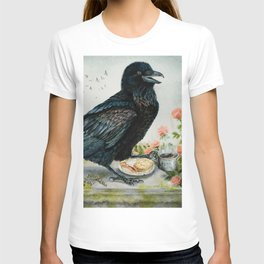 Breakfast With the Raven T-shirt