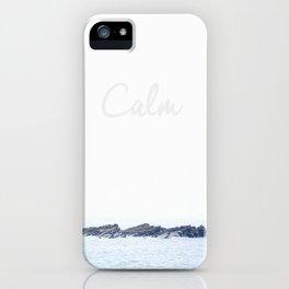 Rocks in the Calm iPhone Case