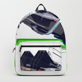 Back to The Future with The Rick Door Portal Backpack