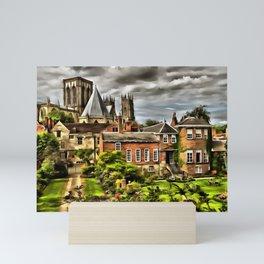 York (Painting) Mini Art Print