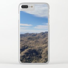 Mountain Beauty Part 2 Clear iPhone Case