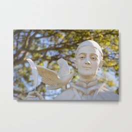 St. Gregory Statue Metal Print