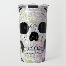 Sugar Skull Mandala Travel Mug