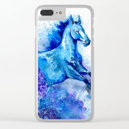 Year of the Horse Clear iPhone Case