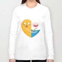 best friends Long Sleeve T-shirts featuring Best friends  by Manfred Maroto