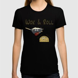 Wok & Roll (with hair) T-shirt