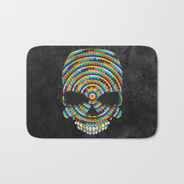Hypnotic Skull Bath Mat