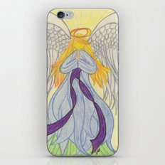 Radiant Angel iPhone & iPod Skin