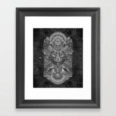 Etched Offering II Framed Art Print