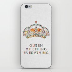 her daily motivation iPhone Skin