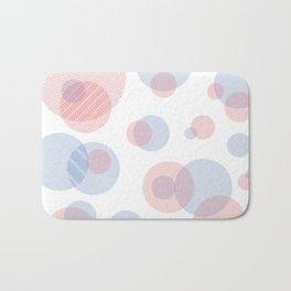Pastel Circles Bath Mat