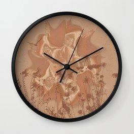 Drought Sunrise Wall Clock