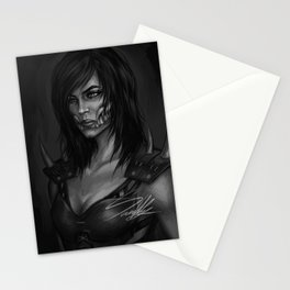 Mileena Portrait Stationery Cards
