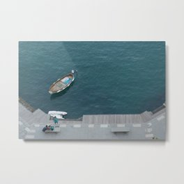 Blue bay Metal Print