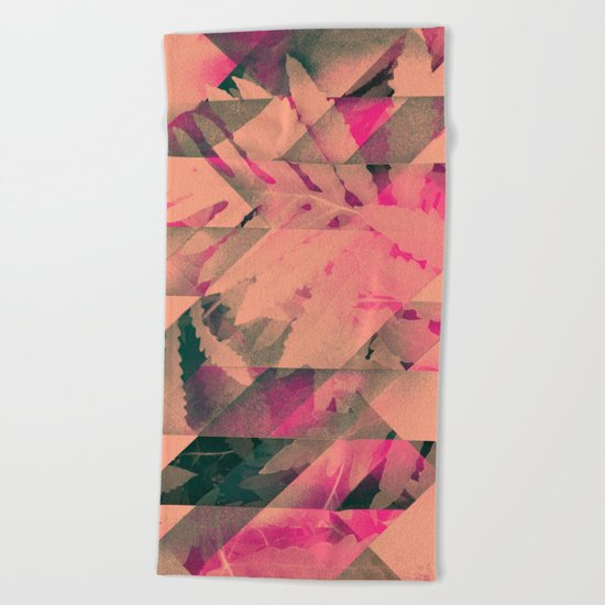 lyyf tryp Beach Towel