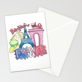 FRANCE Stationery Cards
