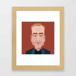Comics of Comedy: Bob Odenkirk Framed Art Print