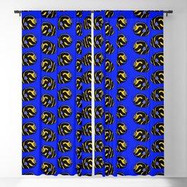 Juvenile Angelfish Pattern Blackout Curtain