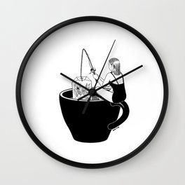 Laid-Back Time Wall Clock