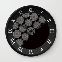 Laced up Wall Clock