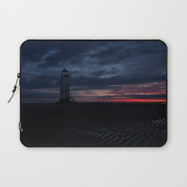 Talacre Lighthouse Sunrise Laptop Sleeve