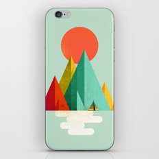 Little Geometric Tipi iPhone & iPod Skin