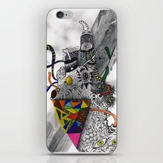 Psychoactive Bear 7 iPhone & iPod Skin