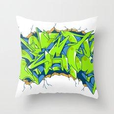 Vecta Wall Smash Throw Pillow