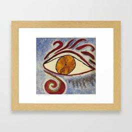 """""""Eye Mimic Horus"""" Framed Art Print"""