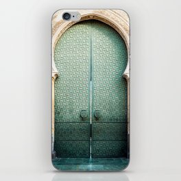 Door of Cathedral Mezquita of Cordoba, Andalucia iPhone Skin