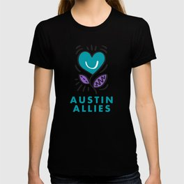 Austin Allies Turq Flower T-shirt